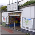 NZ3265 : Pedestrian subway to Viking Centre, Jarrow by Andrew Curtis