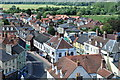TM3389 : Bungay from Above by Ashley Dace