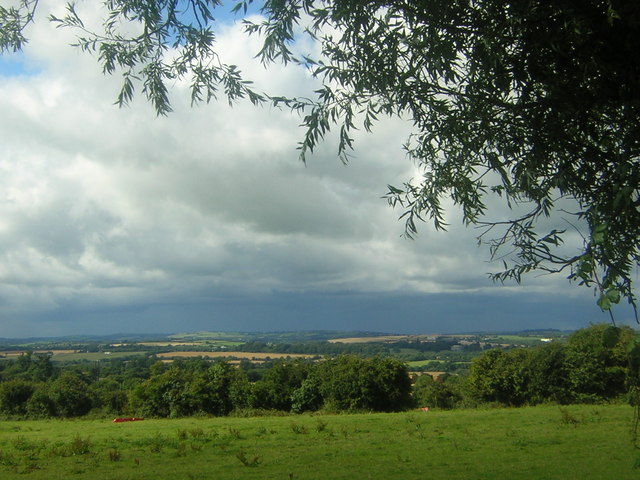 County Meath: looking north towards the Boyne from near Ardcath