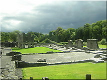 O0178 : Mellifont Abbey by Christopher Hilton