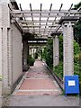 NZ3365 : Museum 'cloister', Bede's World by Andrew Curtis