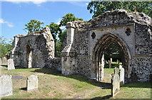 TM3389 : Bungay Priory by Ashley Dace