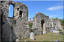 TM3389 : Bungay Priory (remains of ) by Ashley Dace