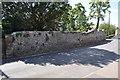 TM3389 : Priory Wall by Ashley Dace