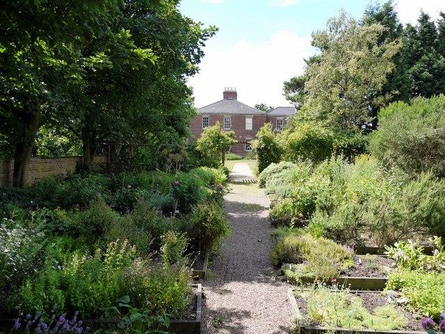 Jarrow Hall from Herb Garden, Bede's World