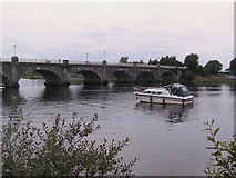 N0015 : Banagher Bridge from upstream by Christopher Hilton