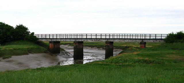Conder Green Rail Bridge