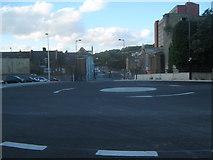 TQ7567 : New roundabout on Sir John Hawkins Way by David Anstiss