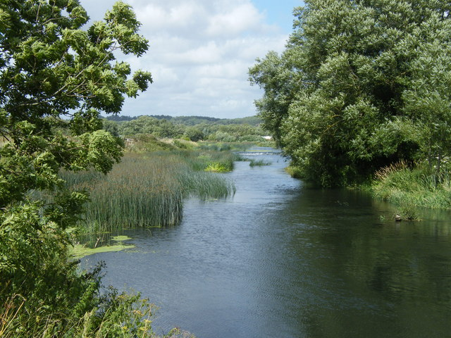 River Stour looking towards Iford Weir