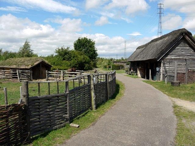 Gyrwe, Anglo-Saxon Demonstration Farm, Bede's World