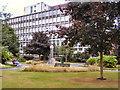 SJ8397 : St John's Gardens and Byrom House by David Dixon
