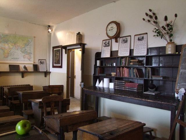 Sir John Moore School classroom