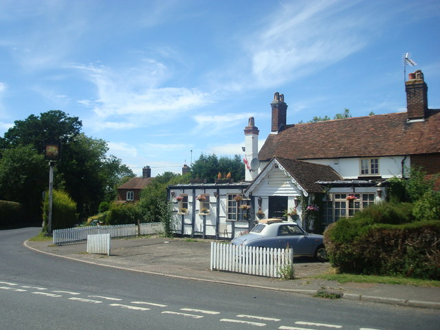 The Blacksmiths Arms public house, Pluckley Thorne by Stacey Harris