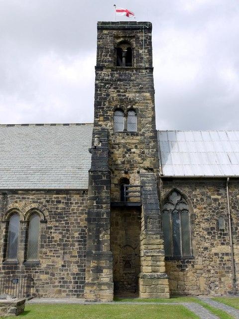 Tower, St Paul's Church, Jarrow