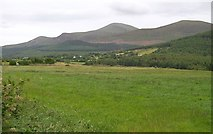 J3532 : View across the Shimna Valley in the direction of The Mournes by Eric Jones