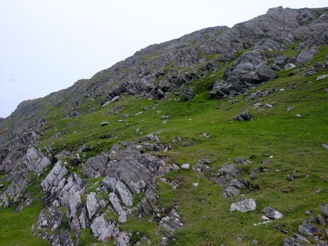 Crags at Easter Keolka