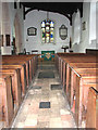 TM3389 : Holy Trinity church in Bungay - south aisle by Evelyn Simak