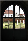 TM3389 : St Mary's church in Bungay - view through the porch screen by Evelyn Simak