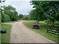 SP2123 : Driveway to Smenham Farm by Michael Dibb