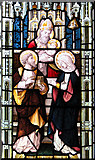TM3389 : The Catholic church of St Edmund, Bungay - stained glass by Evelyn Simak