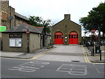 SD4970 : Carnforth Fire Station by David Rogers