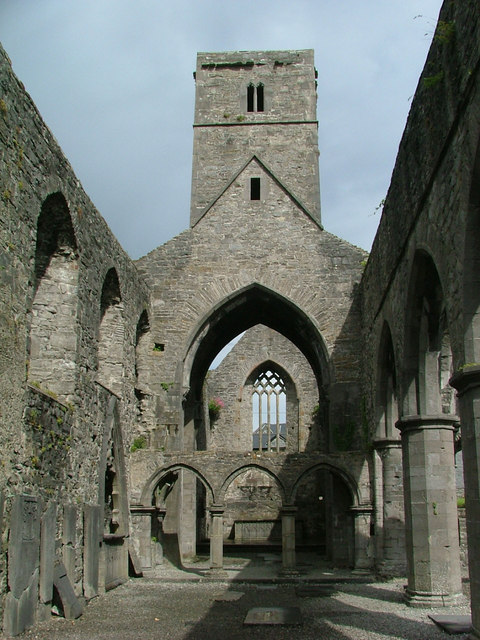 Sligo Abbey facing east