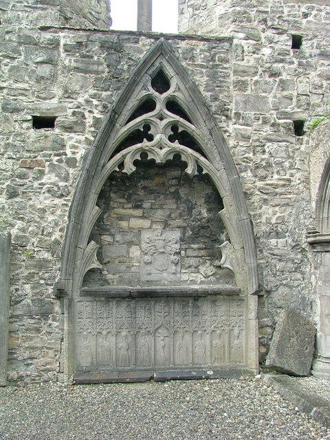 Sligo Abbey - memorial