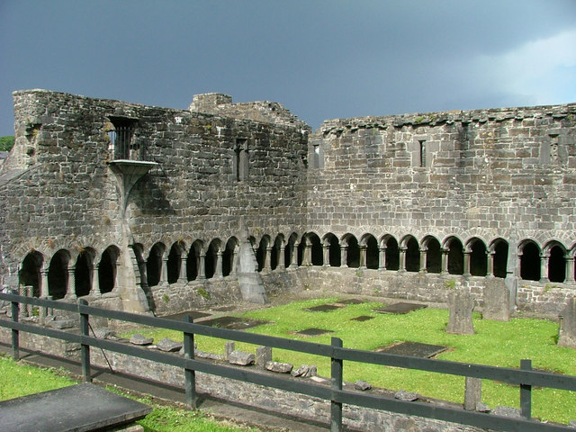 Sligo Abbey - cloister