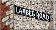 J2766 : Lambeg Road sign, Lambeg by Albert Bridge