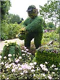 TQ2882 : Garden topiary, Regent's Park by kim traynor