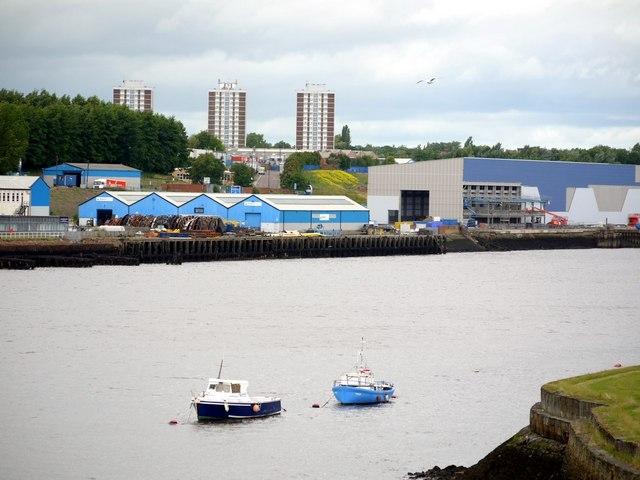 River Tyne from Hebburn Riverside Park