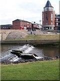 J3731 : Weir below Shimna Bridge by Eric Jones