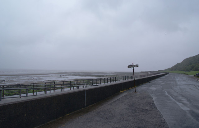 No reason to be on the promenade today by Bill Boaden