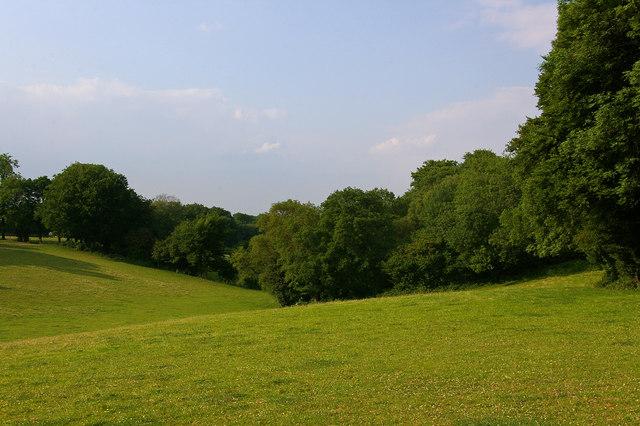 Dry valley near Cudham Grange