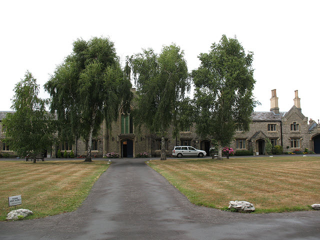 Hickey's Almshouses: main quad