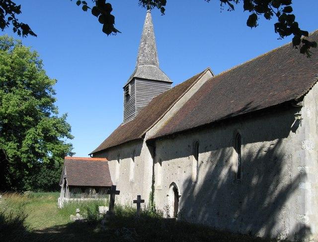 Aythorpe Roding parish church, Essex