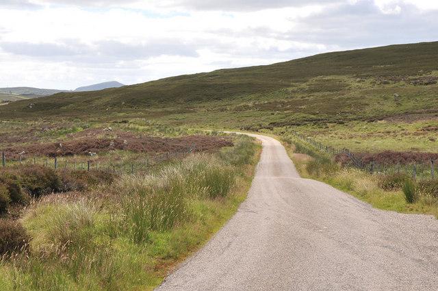 Road near Langwell