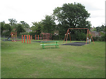 SP2160 : Play area, Snitterfield by Robin Stott