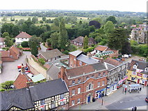 TM3389 : A view over Bungay towards Earsham by Glen Denny
