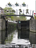 TL3706 : Carthagena Lock on River Lea by Ken Ripper