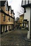 TG2308 : Elm Hill, Norwich by David Gearing