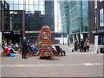 SP0787 : Jazz Concert, Snow Hill Piazza, Birmingham by Geoff Pick
