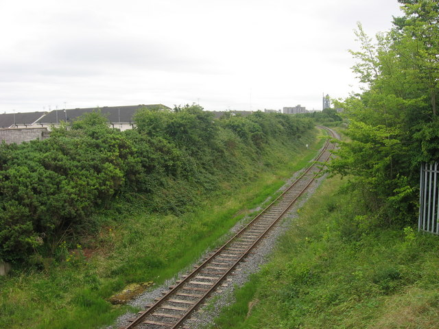 Railway line at Rathmullan, Drogheda