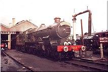 SU5290 : Great Western Railway steam engine, Didcot Railway Centre by nick macneill