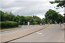 TG1807 : Traffic light - entrance to Norwich Research Park by N Chadwick