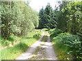 NN0740 : Estate road Loch Etiveside by John Ferguson