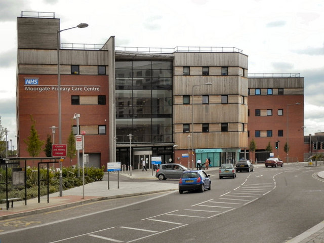 Moorgate Primary Care Centre C David Dixon Cc By Sa 2 0 Geograph Britain And Ireland