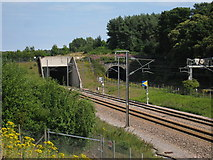 TR1437 : Railway Tunnels over High Speed 1 by Oast House Archive