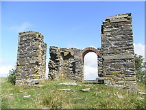SX5746 : Ruins of a building on Beacon Hill by Maurice D Budden