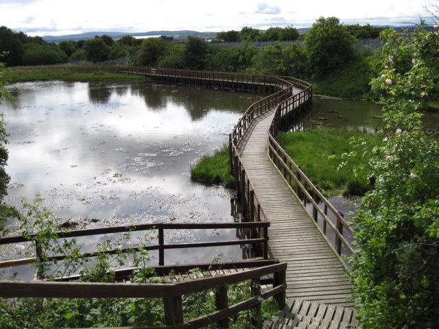 Path in Merkinch Local Nature Reserve
